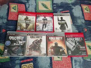 7 Juegos Ps3 Call Of Duty