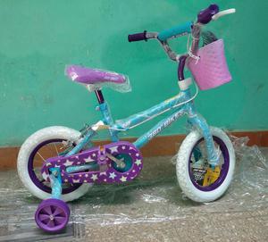Bicicleta para Niña, Aro 12, Nuevo