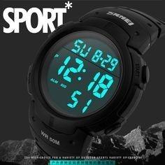 Reloj Deportivo Skmei Digital Con Cronometro Sumergible