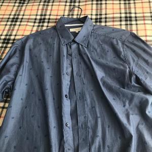 Vendo Camisa Basement Azul Talla L