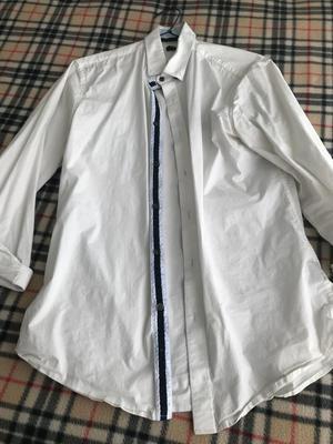 Vendo Camisa Blanca Marquis Talla L