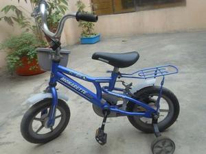 Bicicleta Monarette Para Niño Aro 12¿ Azulino
