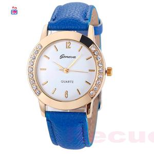 Reloj Geneva Mujer Azul