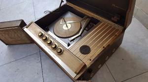 Antiguo Tocadisco Motorala Amplificador De Valvulas
