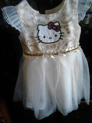Vestido Hello Kitty Talla 3