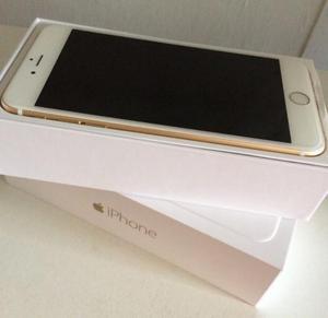 IPHONE 6 PLUS 128GB MEMORIA ORO GOLD LIBRE NUEVO CAJA
