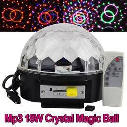 Luces Sicodelicas Led Bola Magic Ball Bluetooth Parlantes