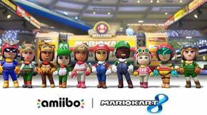 Mario Kart 8 Wii U Nintendo Switch Deluxe Amiibos Trajes