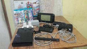 Nintendo Wii U (edición Negra) 32 Gb - Deluxe Set