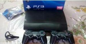 Play Station 3 Ps3 Super Slim 250 Gb Caj