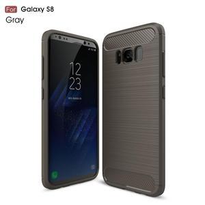 Protector para Samsung Galaxy S8 Fibra de Carbono