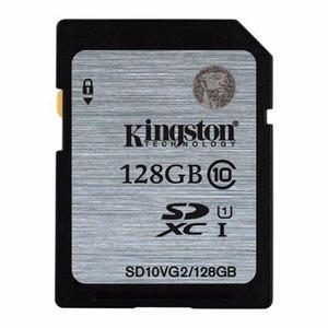 Tarjeta De Memoria Kingston 128 Gb 45mb/s