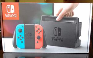 Nintendo Switch Consola Gamer Color Neon
