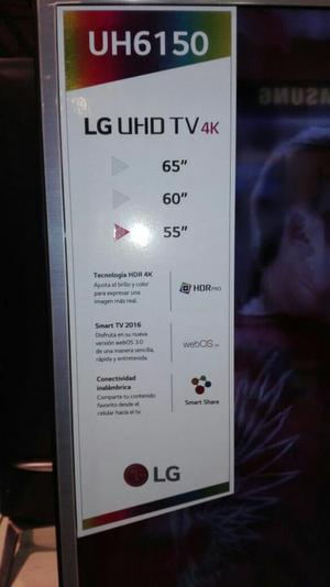 Vendo Tv Lg Smart 4k Ultra Hd 55pgdas