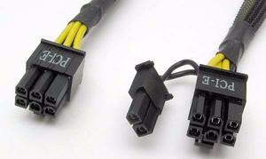 Cable Pci-e 6 Pines, Cable Molex, Adaptador Tarjeta Grafica