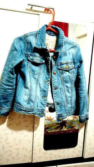 Casaca Jeans Talla 7 Oh 8 para Niñas