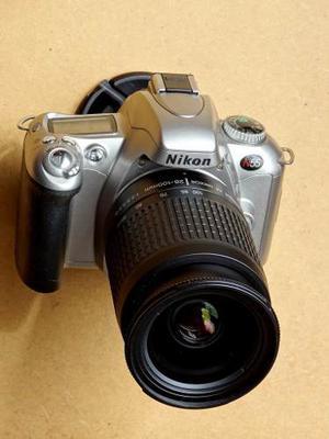Cámara Nikon N55 Slr De Rollo +lente Nikkor mm Nuevos