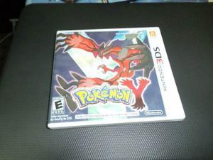 Estuche Nintendo Ds Vacio Pokemon Sin Juego
