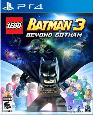 Lego Batman 3: Más Allá De Gotham - Juego Ps4 Digital