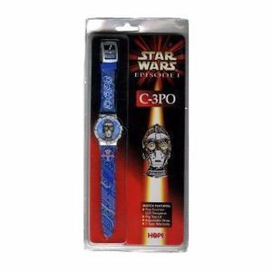 Star Wars - Reloj Lcd C3po Episodio 1