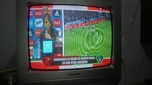 Tv 21 con Control Y Cortesía Rack Olivos