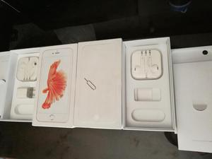 Caja y earpods nuevos de Iphone 6s plus y iphone 6 plus