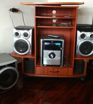 Mueble de vidrio para equipo de sonido o licores posot class - Muebles para equipo de sonido ...