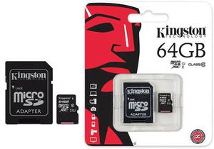 Memoria Sd 64 Gb Sony, Kingston Etc
