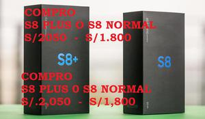 SAMSUNG S8 PLUS CON CAJA Y ACCESORIOS COMPLETOS