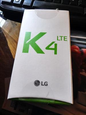 Smartphone LG K4 nuevo en caja