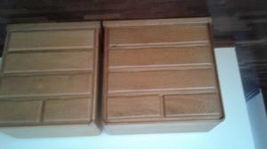 Cómodas de madera en buen estado