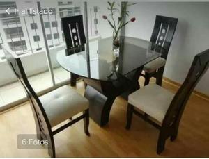 Comedor de 4 sillas en lima posot class for Comedor 10 sillas