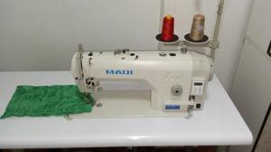 Maquina Recta Industrial Semi Automatica