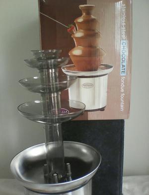 Pileta de Chocolate Fondue