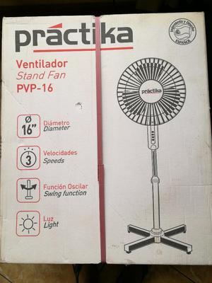 Ventilador Practika 16 Nuevo Sellado