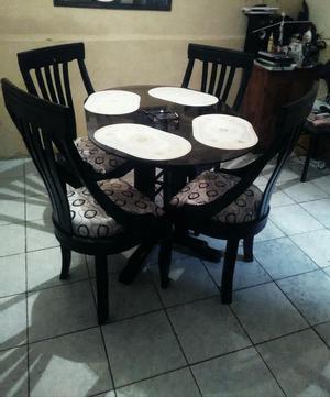 Comedor usado mesa vidrio 6 puestos posot class for Comedor 4 puestos vidrio