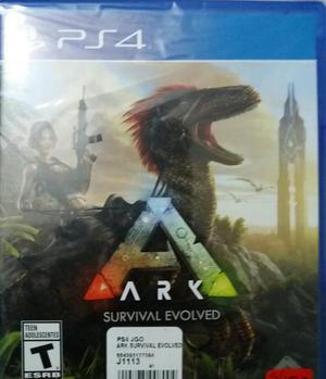 Juego Ark Survival Ps4