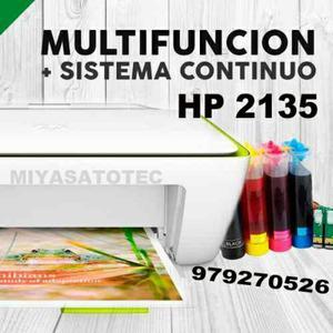 Multifuncional Impresora Hp  con Cis