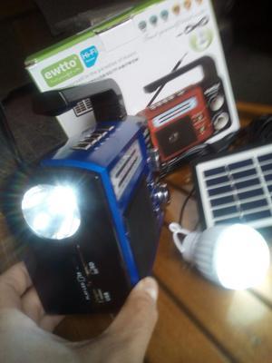 Radio Solar Kit Solar