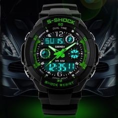Reloj Deportivo Skmei, Sumergible Con Cronometro Y Alarma