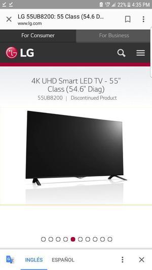 Tv 4k Uhd Smart Tv. Lg 55