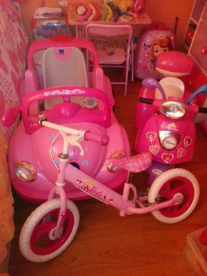 Carro/bicicleta/moto para Niñas