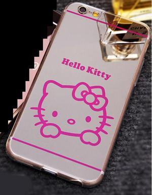 Case Espejo Hello Kitty Iphone 5 5s Se 6 Plus Remate