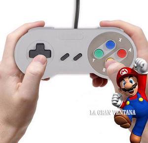 Mando Usb Tipo Nintendo Clásico Para Pc Mac Par Game Pad