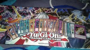 ¡VENDO 50 CARTAS DE YU GI OH MÁS TABLERO!