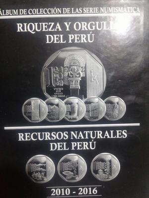 Vendo Mi Album de Coleccion de Monedas