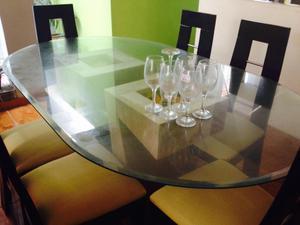 Remato comedor de marmol y mesa de vidrio posot class - Bases de marmol para mesas de comedor ...