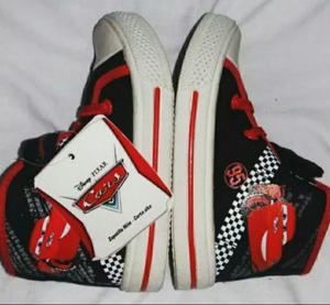 Zapatillas Nuevas Car Disney T23 Y 24