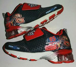 Zapatillas Nuevas Cars Disney Pixar T24