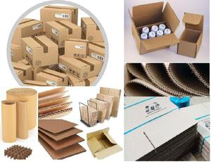 CAJAS DE CARTON CORRUGADO Simple Doble Engrapadas Con Logo